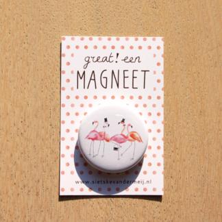 Flamingo's magneet