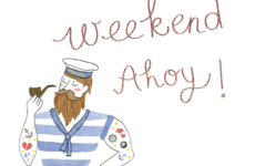 Weekend ahoy!